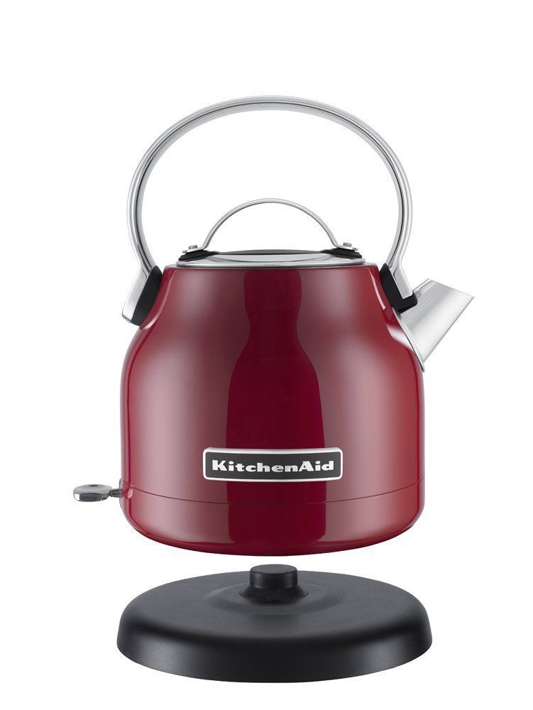 Kitchenaid Tea Kettle ~ Kitchenaid l electric tea kettle in red stainless
