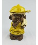 Vintage cookie jar Black Americana Treasure Craft baseball child ceramic... - $74.25