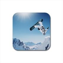 Snowboarding Bottle Opener Keychain and Beer Drink Coaster Set - $7.71+