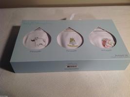 Baby Dumpling Multisize Bodysuit Set 3pc 3mo, 6mo, 9mo gift set Woodland Friends