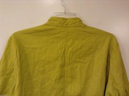 Coldwater Creek Lightweight Mustard Yellow Blouse Shirt Jacket, size PXL (18) image 6