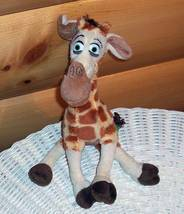 "Madagascar DreamWorks Plush 9"" Melman Giraffe Wants Spring Time Travel - $6.29"