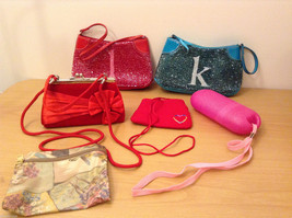 Girls Collection of purses small handbags Lot of 6