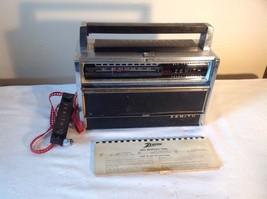 Zenith  Transoceanic All Transistor Shortwave Radio 1000D Vintage