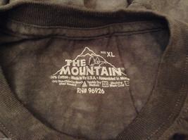 The Mountain Black 100% Cotton Boston Terrier Face Print T-shirt, size XL image 6