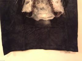 The Mountain Black 100% Cotton Boston Terrier Face Print T-shirt, size XL image 5