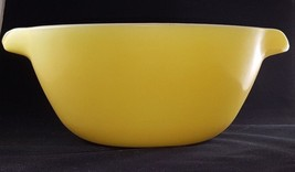 Vintage Anchor Hocking Fire King Oven Proof Yellow Mixing Bowl - $7.91