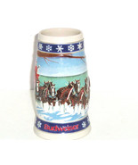 Budweiser Beer Stein Holiday LIghting the Way H... - $64.95