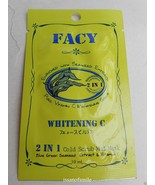 3 Packs Facy Whitening C 2 in 1 Cold Scrub Mud Mask Blue Green Seaweed V... - $11.00