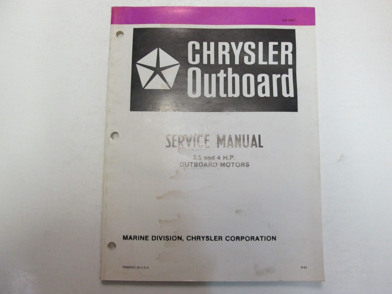 1983 chrysler outboard 3 5 4 hp outboard and 50 similar items rh bonanza com Chrysler Outboard Part Numbers 1972 Chrysler 6Hp Outboard Motor