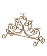 Antiqued Cast Iron 5-Candle Stand - $32.99