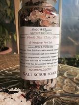 Organic Vanilla Apothacary Rose, Black Tea & Hymalayan Pink Salts. - $8.00