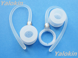 NEW 2 White Ear Hooks and Ear Adapters for Motorola Boom 89605N and H17 ... - $13.71