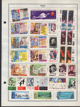 130+ Russia 1962-1964 stamps - $9.79