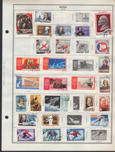 130+ Russia 1961-1963 stamps - $9.79