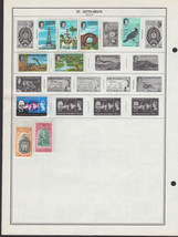 14 St Kitts-Nevis 1963-1977 stamps - $0.97