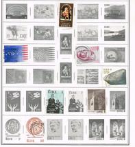 107 Ireland 1974-1998 stamps - $9.79