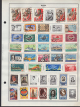 80 Russia 1958-1960 stamps - $9.79