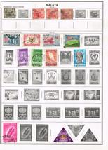 83 Malaya 1900-1962 stamps - $7.83