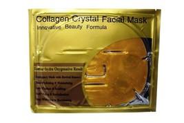 1X GOLD COLLAGEN CRYSTAL FACIAL MASK ANTI-AGING ANTI-WRINKLE MOISTURIZING - $6.99
