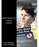 NEW BIGEN MEN CREAM COLOR HAIR DYE BROWN BLACK 102 EASY & QUICK BY ONE PUSH - $22.99