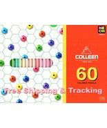 COLLEEN NEON 60 Colored Pencils no.775 Tracking Included Drawing Sketch ... - $26.00