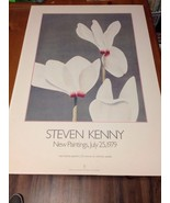 Steven Kenny / New Paintings Exhibition Poster / 1979 / Marci Lipman Gra... - $24.75