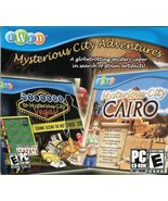 Mysterious City Adventures Vegas and Cairo JC [CD-ROM] Windows 7 / Windo... - $1.97
