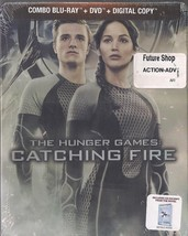 The Hunger Games Catching Fire Future Shop Canada Steelbook Combo Blu-Ra... - $39.99