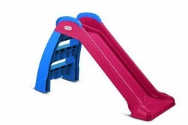 Little Tikes Perfect Beginner's, Kids Toddler Slide Red/Blue New 624605M - $50.71