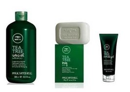 Paul Mitchell Tea Tree Gift Set - Special Shampoo 10.1oz, Body Bar 5.3oz, Firm H - $28.21