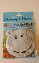 Mommy's Kisses Plush Hippo Hot & Cold Gel Pack for Ouchies & Boo Boos-Washable  - $4.94
