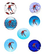 Spiderman S1-Digital Download-clipart-gift card-gift tags-banner-backgro... - $4.00