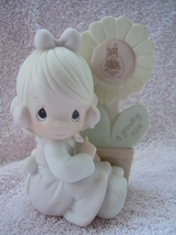 Precious Moments A Growing Love 1987 Leaf Mark - $4.99