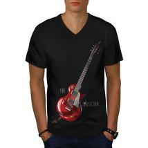 The Musician Shirt Bass Guitar Men V-Neck T-shirt - $12.99+