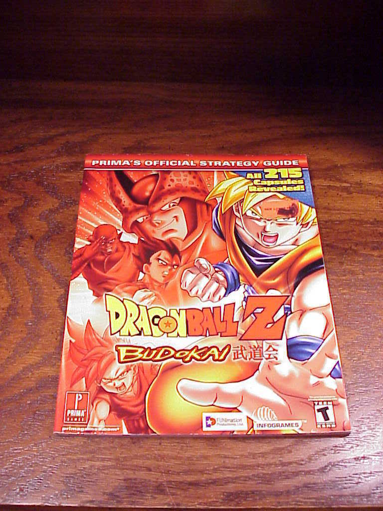 Dragonball Z Budokai Prima Guide Book for Playstation 2, PS2