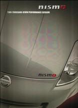2007 Nissan NISMO parts accessories brochure catalog 07 US Z Altima Sentra - $9.00