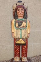 2 .5 Foot CIGAR STORE WOODEN INDIAN Sculpture Indian Chief by Frank Gall... - $749.00