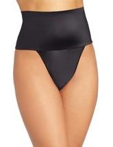 Rago Women's Wide Band Thong Panty, Black, Medium (28) - $28.77