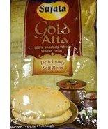 Sujata GOLD Atta - 100% Sharbati Whole Wheat Flour 4lb - $8.60