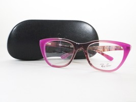RayBan RB5322 5489 Optical Frame Gradient Magenta Brown Glasses - $56.06