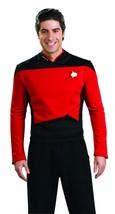 Rubies Star Trek Deluxe Next Generation Red Command Halloween Costume 888979 - $35.85