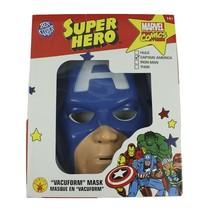Captain America Ben Cooper Mask Marvel Fancy Dress Halloween Costume Accessory - $20.69