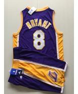 Men's Los Angeles Lakers #8 Kobe Bryant basketball jersey suit purple.jpg - $45.99