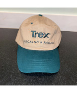 Trex Decking & Railing Baseball Hat Mens OSFA Adjustable Cap Tan Khaki G... - £7.86 GBP