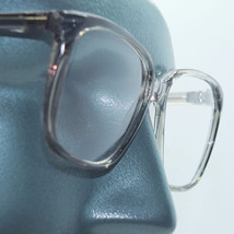 Large Square Frame Statement Gray Crystal Reading Glasses +1.00 Lens Strength - $18.00