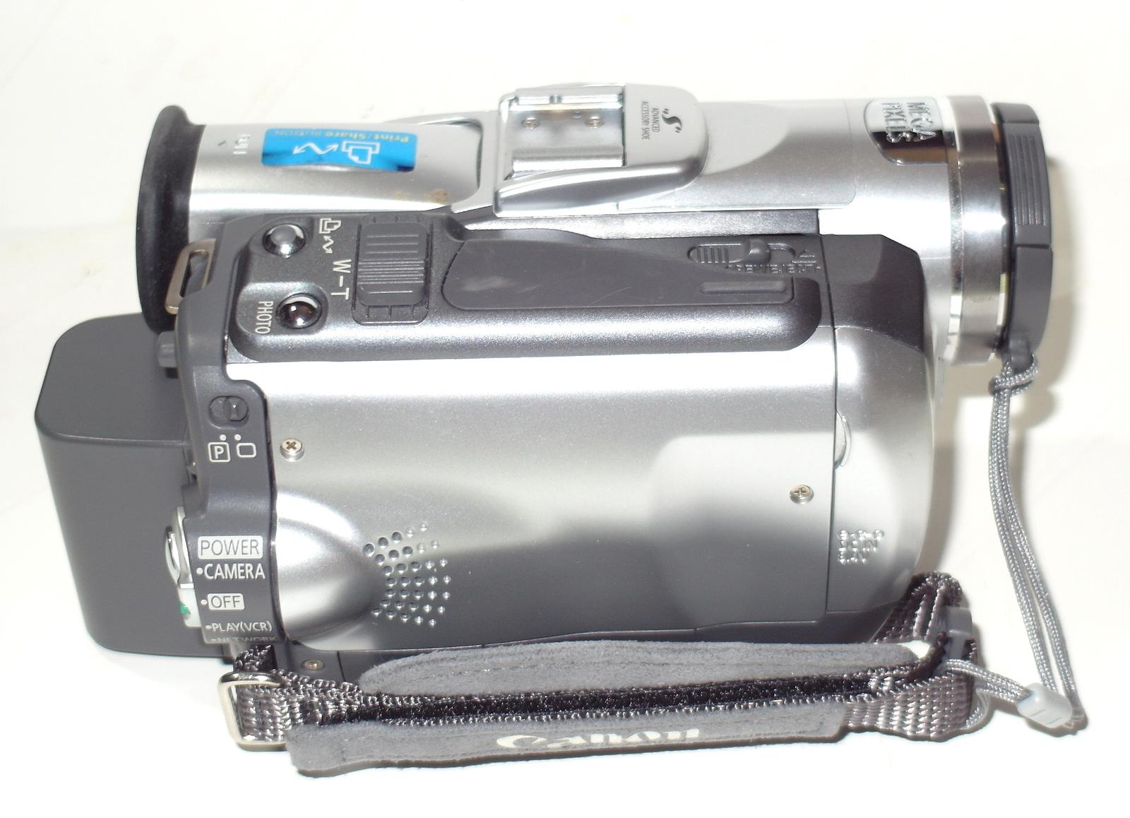Canon Elura 65 Mini DV Camcorder w/16x Optical Zoom Mini DV