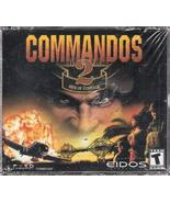Commandos 2 Men of Courage (Rated Teen) [video game] - $9.89
