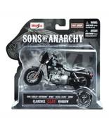 Sons of Anarchy Clay 2008 Harley Davidson Super Glide Sport 1:18 Die-Cas... - $17.36