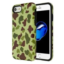 For APPLE iPhone 8/7 Duck Camo/Black Fuse Hybrid Case Cover - $11.07